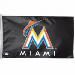 Miami Marlins Flag - 3 ft X 5 ft