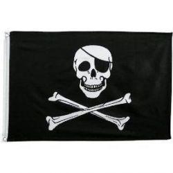 3' X 5' Polyester Jolly Roger Flag