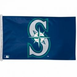 Seattle Mariners Flag - 3 ft X 5 ft