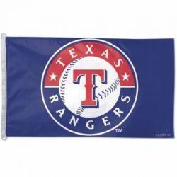 Texas Rangers Flag - 3 ft X 5 ft