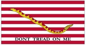 Navy Jack Flag - 6 ft 9 3/4 in X 5 ft 8 3/4 in