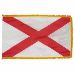 3' X 5' Nylon Indoor/Parade Alabama State Flag