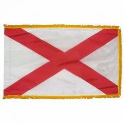 3' X 5' Nylon Indoor/Parade Alabama State Flag