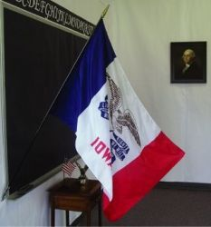 Iowa Classroom Flag - 2 ft X 3 ft