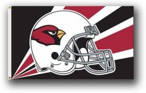 Premium Arizona Cardinals Flag - 3 ft X 5 ft
