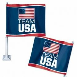 Team USA - Car Flag