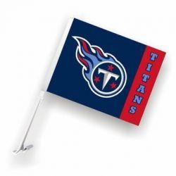 Tennessee Titans - Car Flag