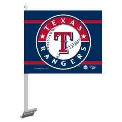 Texas Rangers - Car Flag