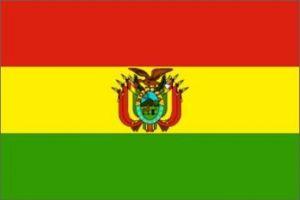 Nylon Bolivia Flag - 2 ft X 3 ft