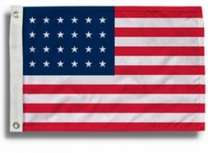 24 Star US Flags