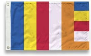 Outdoor Buddhist Flag - 4 ft X 6 ft