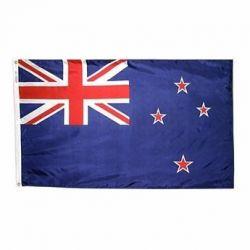 Nylon New Zealand Flag - 5 ft X 8 ft