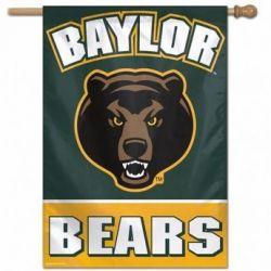 Baylor University Vertical Flag