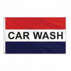 Lightweight Poly Car Wash Flag