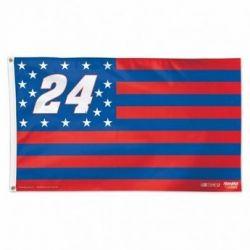 Chase Elliott Sprint Cup Car Stars & Stripes Flag