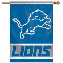 Detroit Lions Vertical Flag
