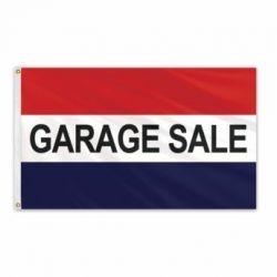 Lightweight Poly Garage Sale Flag