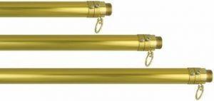Gold Adjustable Aluminum Parade Flagpole