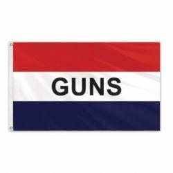 Lightweight Poly Guns Flag