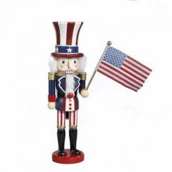 Hollywood Collection Uncle Sam Nutcracker