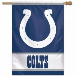 Indianapolis Colts Vertical Flag