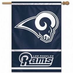 Los Angeles Rams Vertical Flag