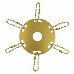 Gold Metal Award Ribbon Pole Ring
