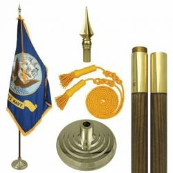 Mounted Navy Flag Sets