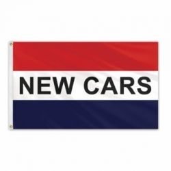 Lightweight Poly New Cars Flag