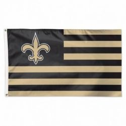 New Orleans Saints Americana Flag