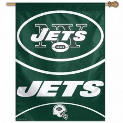 New York Jets Vertical Flag