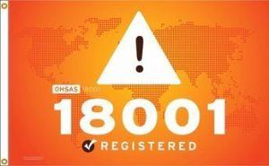 OHSAS 18001 Flag
