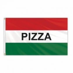 Lightweight Poly Pizza Flag