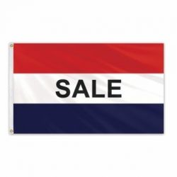 Lightweight Poly Sale Flag