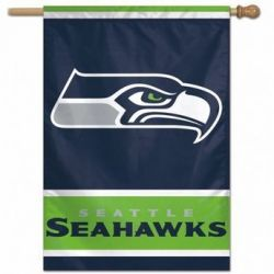 Seattle Seahawks Vertical Flag