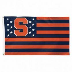 Syracuse University Stars & Stripes Flag