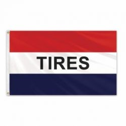 Lightweight Poly Tires Flag