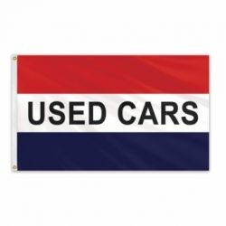 Lightweight Poly Used Cars Flag