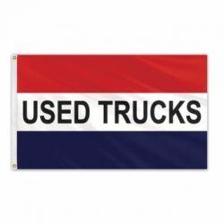 Lightweight Poly Used Trucks Flag