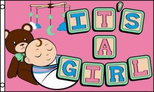 It's a Girl! Flag