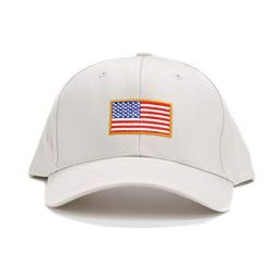Embroidered US Flag Cap