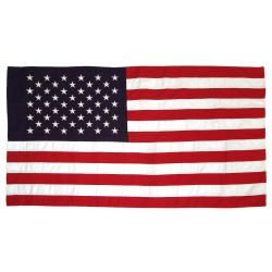 Koralex II Commercial-Grade American Flag with Pole Sleeve - 2 1/2 ft X 4 ft