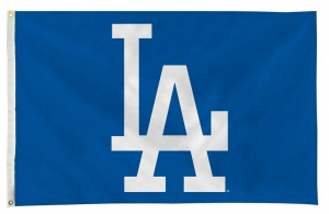 Deluxe Los Angeles Dodgers Flag - 3 ft X 5 ft