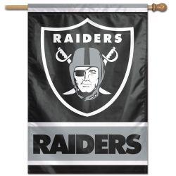 Las Vegas Raiders Vertical Flag
