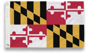 State-Tex Commercial Grade Maryland State Flag - 5 ft X 8 ft