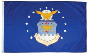 Mil-Tex Military-Grade Air Force Flag - 4 ft X 6 ft