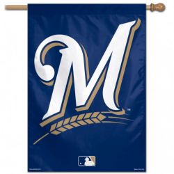 Milwaukee Brewers Vertical House Banner