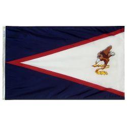 Nylon American Samoa Flag - 4 ft X 6 ft