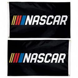 Deluxe NASCAR Logo Flag - 3 ft X 5 ft