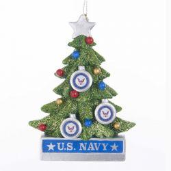 U.S. Navy Christmas Tree Ornament